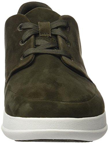 Verde Uomo Suede Sporty Camouflage Green Pop Sneaker Fitflop 6XqwnpSZ