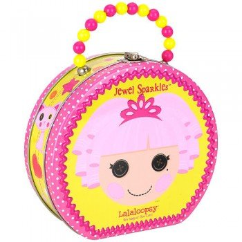 Lalaloopsy Jewel Sparkles Carry All Tin Hat Box -