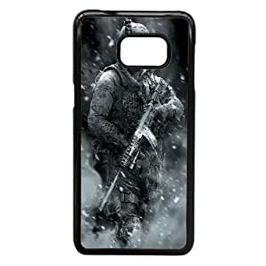 Printed Cover Protector Samsung Galaxy S6 Edge Plus Cell Phone Case BlackCall of Duty InfantryMfuck Unique Design Cases