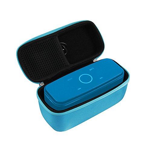 Hermitshell Hard EVA Travel Blue Case Fits DOSS SoundBox Bluetooth Speaker Portable Wireless Bluetooth 4.0 Touch Speakers