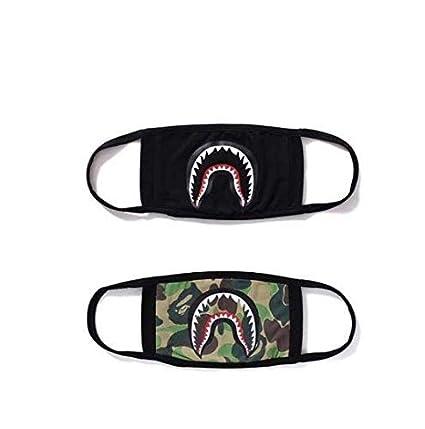 Amazon.com: Xshelley - Máscara de cara de tiburón, máscara ...
