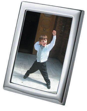 """velvetback plain Sterling silver photo//photo frame 6 x 4/"""""""