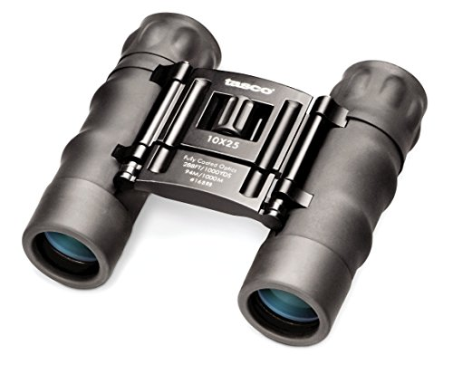 Bushnell Tasco Essentials 10x25 Compact Binocular - Black