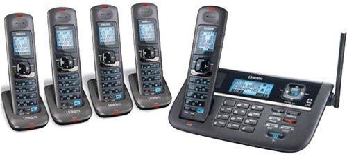 Uniden DECT4086 (2 Line) 1.9GHz DECT 6.0 Cordless Telephone Base + 4 DCX400 Cordless Handsets