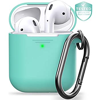 Amazon.com: PodSkinz AirPods 2 & 1 Case [Front LED Visible
