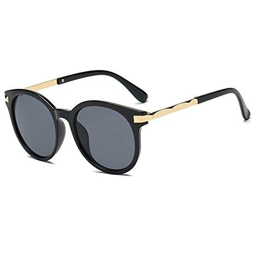 AN Rétro personnalité lunettes de soleil femme marron transparent lunettes de soleil mode,UNE,Taille unique