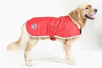 isremi (TM) XL 4 x l especial sólo para perros grandes pata impresión abrigo para