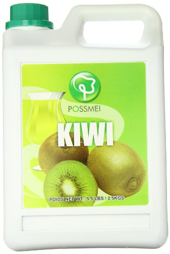 Possmei Flavored Syrup, Kiwi, 5.5 Pound
