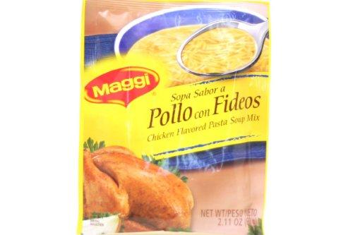 - Sopa Sabor a Pollo Con Fideos (Chicken Flavored Pasta Soup Mix) - 2.11oz [Pack of 6]