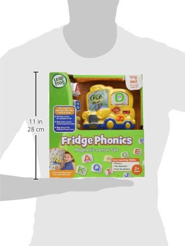 41yW5TDkkeL - LeapFrog Fridge Phonics Magnetic Letter Set
