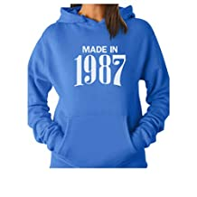TeeStars - Made in 1987 Retro 30th Birthday Gift Women Hoodie
