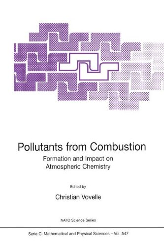Pollutants from Combustion (NATO SCIENCE SERIES: C Mathematical and Physical Sciences Volume 547)