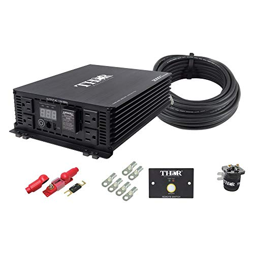Thor 2000W Modified Sine Wave Power Inverter