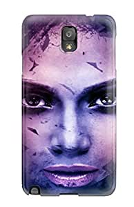 YY-ONE Female Celebrity Flip Case With Fashion Design For Galaxy Note 3