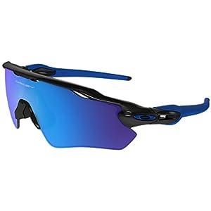 a3ab6c475f71 Oakley Men's Radar Ev Path Non-Polarized Iridium Rectangular Sunglasses,  Polished Black, 38 mm
