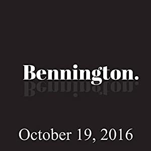 Bennington, Nick DiPaolo, October 19, 2016 Radio/TV Program
