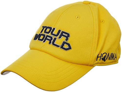 本間ゴルフ TOUR WORLD 831-419601 メンズ イエロー FREE(57~59cm)