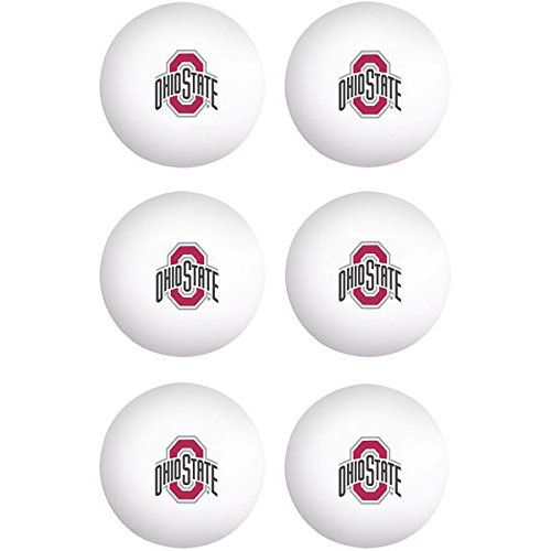 State Ohio Game Table (WinCraft Ohio State Buckeyes NCAA Ping Pong Ball Set - Team Color,)