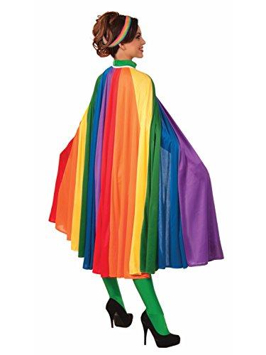 Forum Women's Rainbow Fantasy Cape, Multi, One Size]()