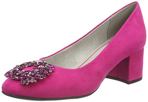 Avant Chaussures Pink Rose à du Talons Pieds Marco Tozzi Couvert 22443 Femme cXBwZPTq