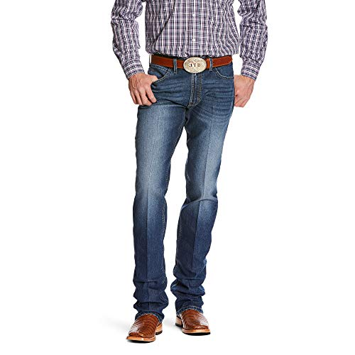 ARIAT Men's Relentless Original Fit Buck Stackable Stretch Straight Leg Jean