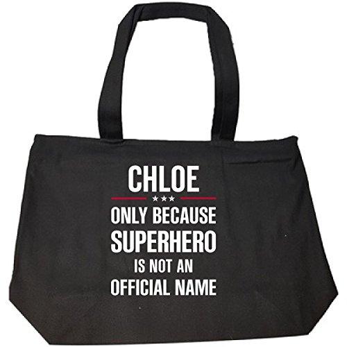 Chloe Tote Bag Black - 9