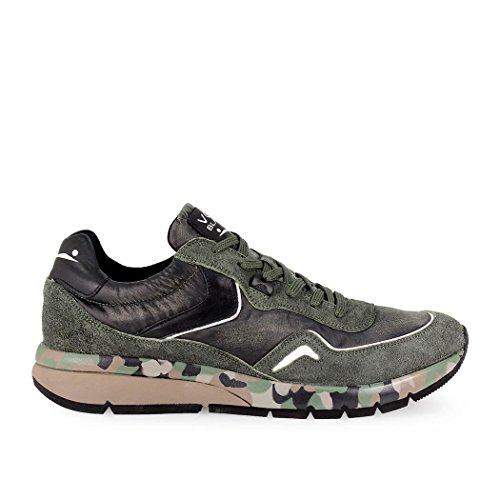 Sneaker Militare Voile Blanche Verde Endavour 70wBq5Ban