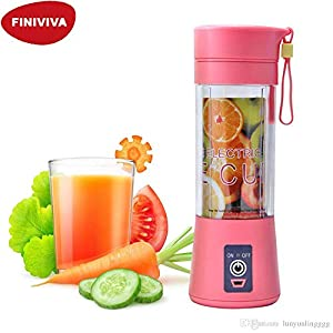 Best FINIVIVA Portable USB Juicer Bottle Blender in India 2020