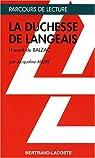 La Duchesse de Langeais : Honoré de Balzac par Milhit