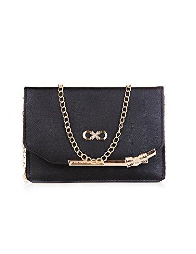 Osye Women Fashion Handbags Shoulder Bags-black