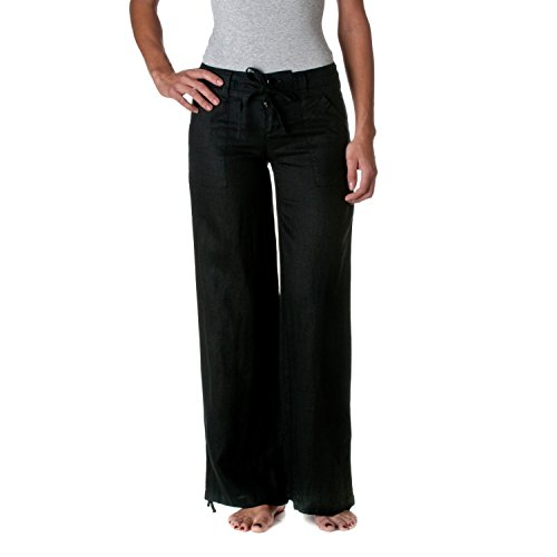 Linen pants women drawstring - FashionFeed.co