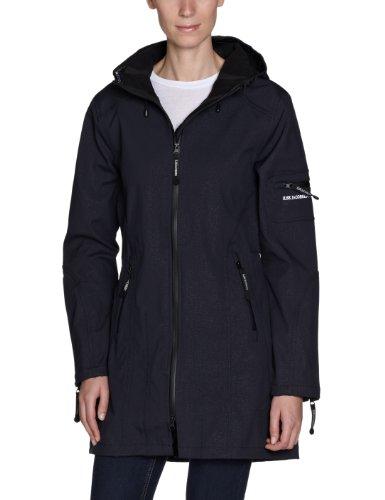 ILSE JACOBSEN Women's Tapered Soft Shell Jacket, Indigo, 40