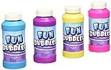 Rhode Island Novelty Bubble Bottles Assortment (12-Pack) - 4oz