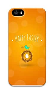 iPhone 5 5S Case Happy Easter 3D Custom iPhone 5 5S Case Cover