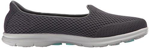 Rendimiento Shift Caminar Skechers Charcoal Zapato Paso Ir dq8dxFzg
