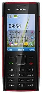 """Nokia X2-00 - Móvil libre (pantalla de 2,2"""" 320 x 240, 48 MB de capacidad) color negro"""