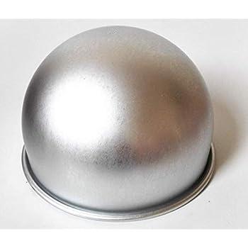 Astra Gourgemt 8 Inch X 5 Inch Deep Aluminum Hemisphere Pan Ball Cake Pans Pudding Mould Baking Pan