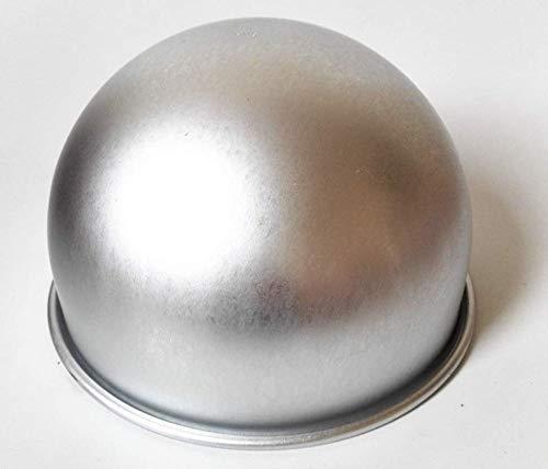 (Astra Gourgemt 8 Inch x 5 Inch Deep Aluminum Hemisphere Pan, Ball Cake Pans Pudding Mould Baking Pan )