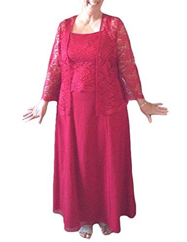 Stillluxury - Vestido - para mujer fucsia