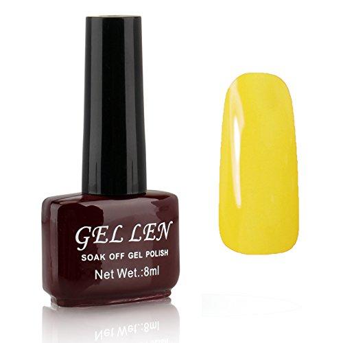 Gellen Gel Colors UV Gel Polish 1pc 8ml Shiny Effect Fresh L