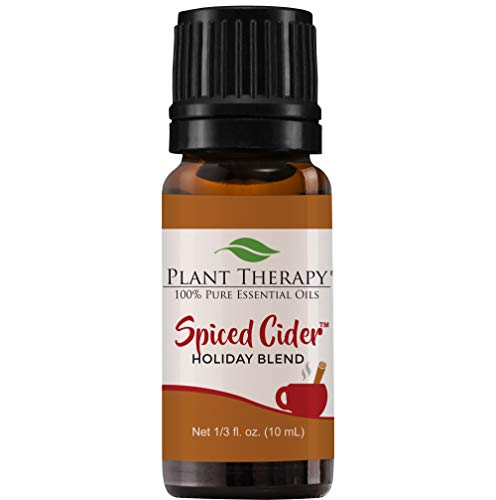 Plant Therapy Essential Oil | Spiced Cider Holiday Blend Oil | 100% Pure, Undiluted, Natural Aromatherapy, Therapeutic Grade | 10 milliliter (⅓ ounce)