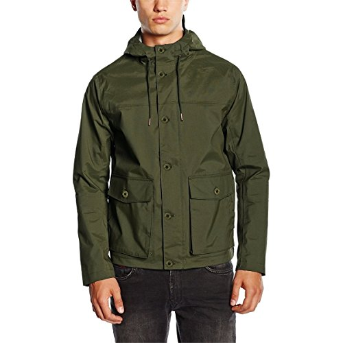 Timberland Men's Mount Clay Waterproof Wharf Bomber Jacket, Bomber Fores,L M US
