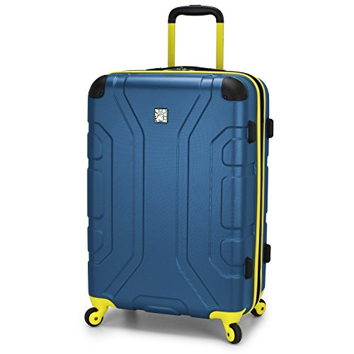 "U.S. Traveler Sky High 26"" Expandable Hardside Spinner, Teal"