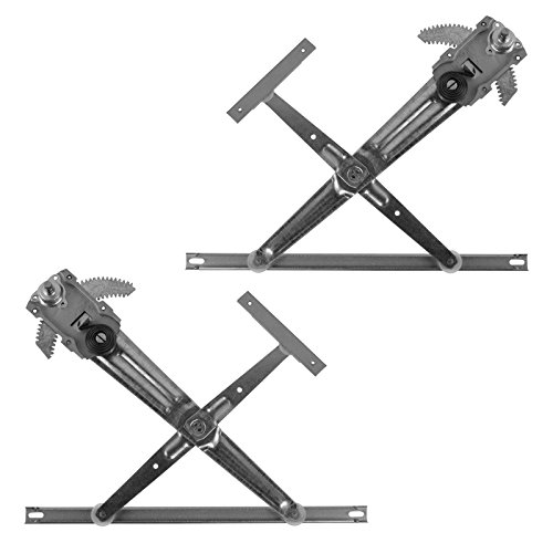 Manual Window Regulator Front LH Driver RH Passenger Pair for Suzuki Samurai (Suzuki Samurai Driver)