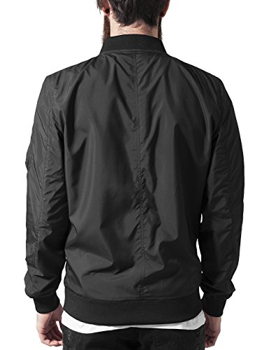 7 Classics Black Hombre Chaqueta Jacket Urban Light para Negro Bomber SdzRBw