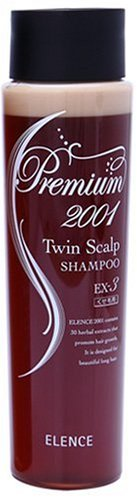 Elence 2001 EX-3 Premium Shampoo For Fast Hair Growth and Prevention of Hair Loss