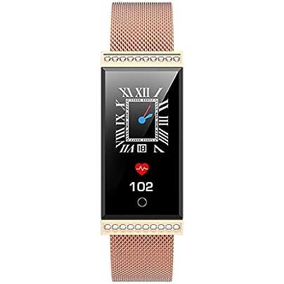 LNLZYF smart wristband Smart Bracelet Women Girl Professional IP68 Waterproof Fitness Tracker Heart Rate Blood Pressure Sports Smart Band Estimated Price £73.98 -