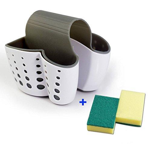 r Sink Caddy Soap Holder(WHITE) (Scrub Sink Faucet)