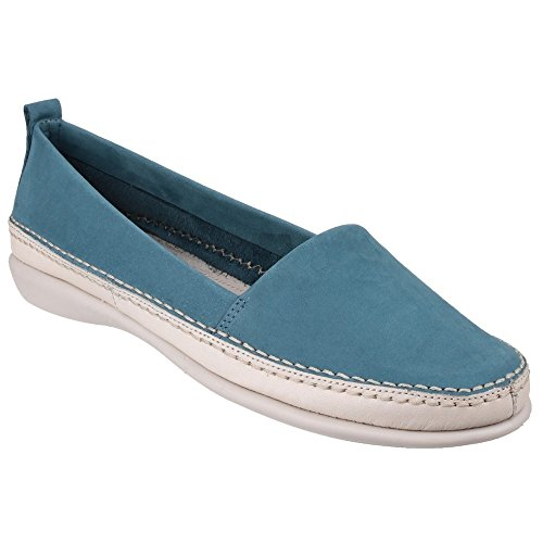The Flexx - Zapatos de verano de Nubuck modelo Mr Softy para mujer Canario