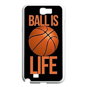Fggcc Basketball Case for Samsung Galaxy Note 2 N7100,Basketball Note2 Cell Phone Case (pattern 7)